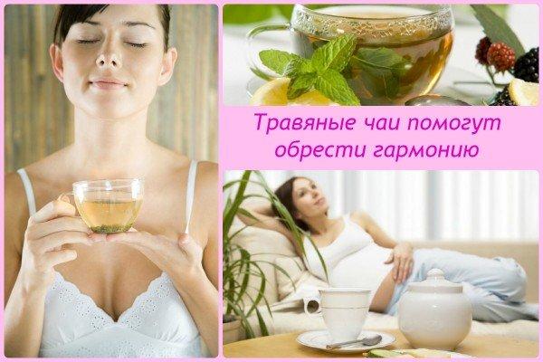 Травяные чаи помогут обрести гармонию