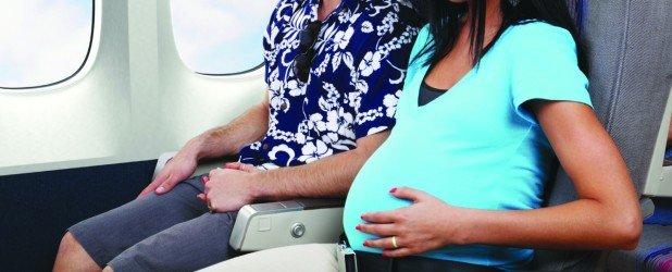 Беременная в самолете