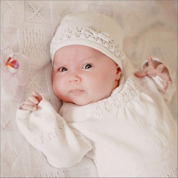 Развитие ребенка 1 месяц: зрение