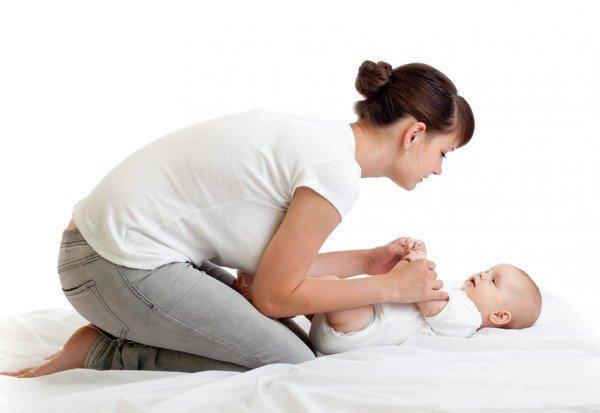 Развитие ребенка 1 месяц: движения