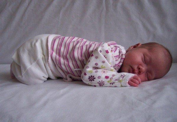Сон месячного малыша
