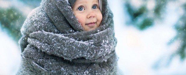 ребёнок зимой