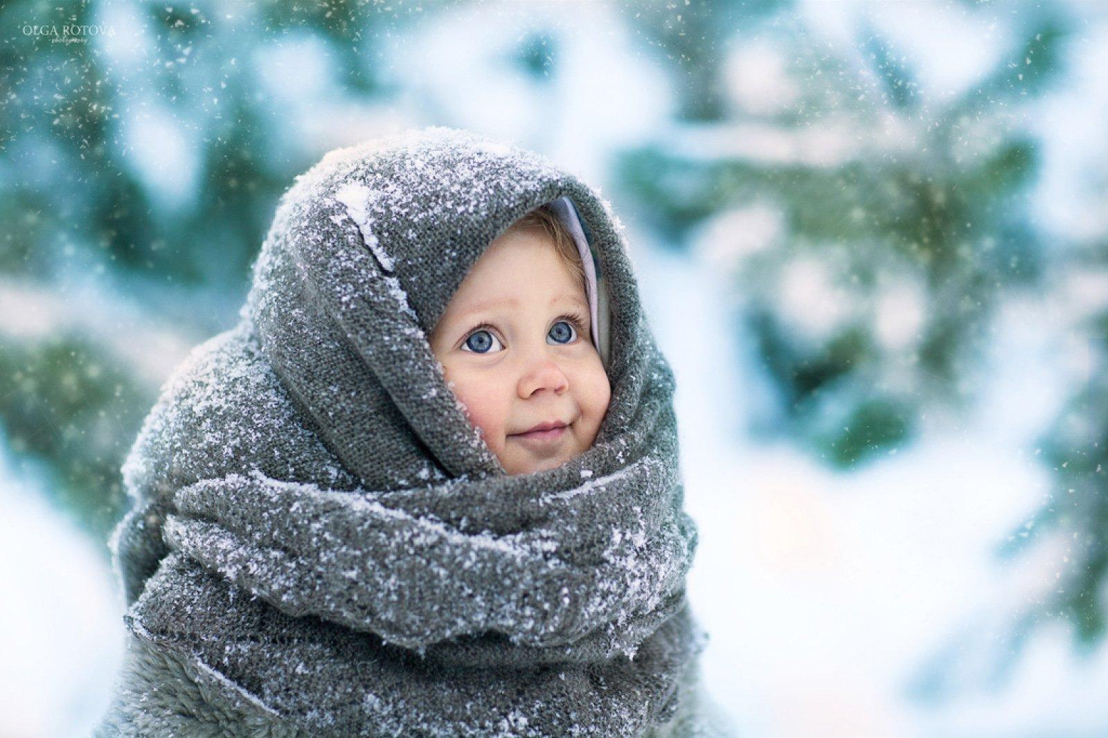 Как одевать ребёнка зимой