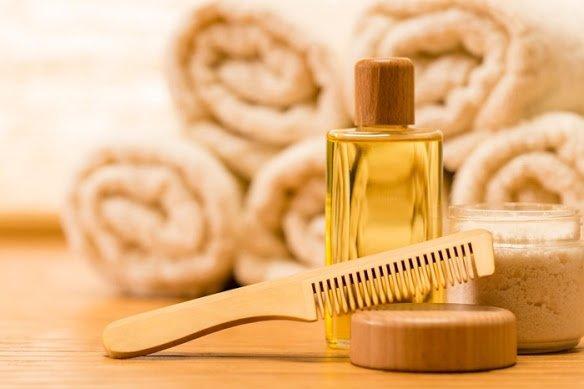 Аксессуары для волос и масло для ухода
