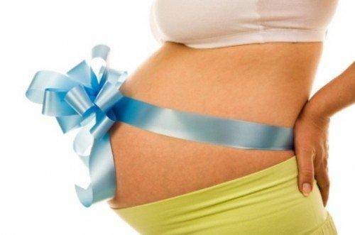 Форма живота беременной мальчиком 72