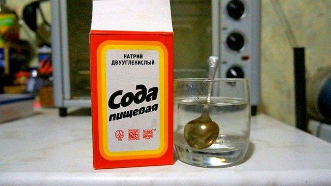 помогает ли сода от паразитов
