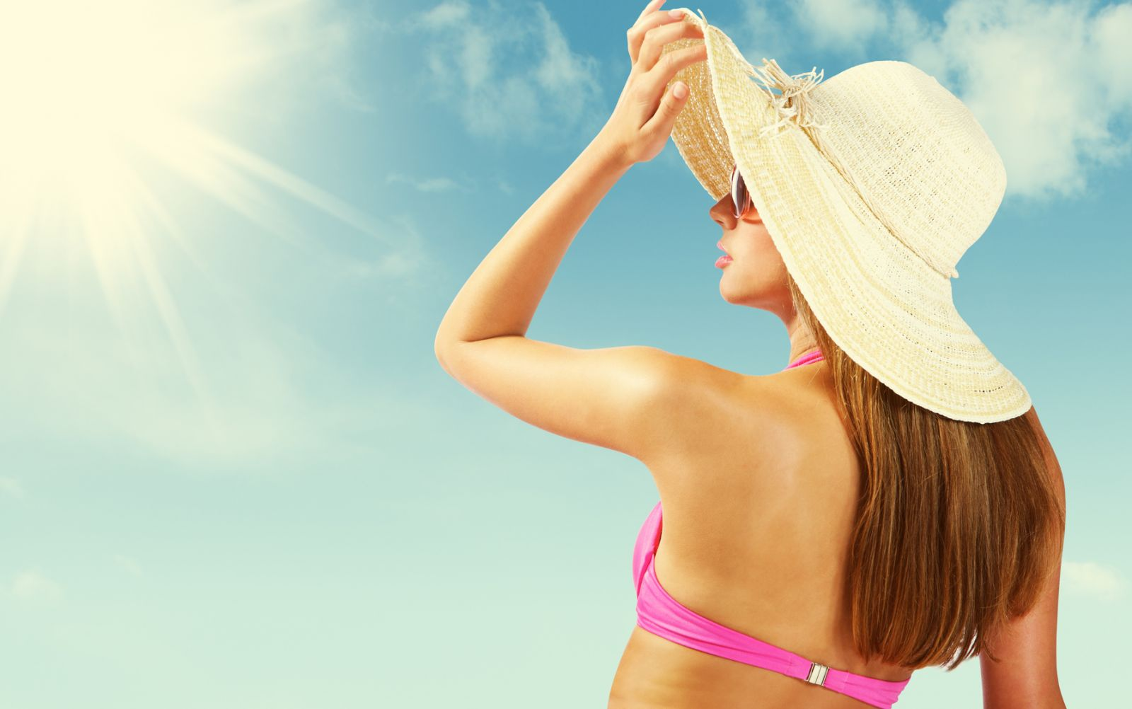 Девушка на пляжу