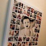 Коллаж из детских фотографий