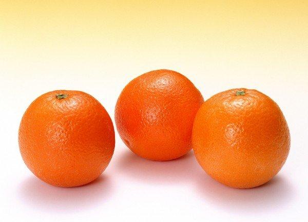 Спелые апельсины