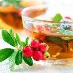 Зелёный чай с боярышником