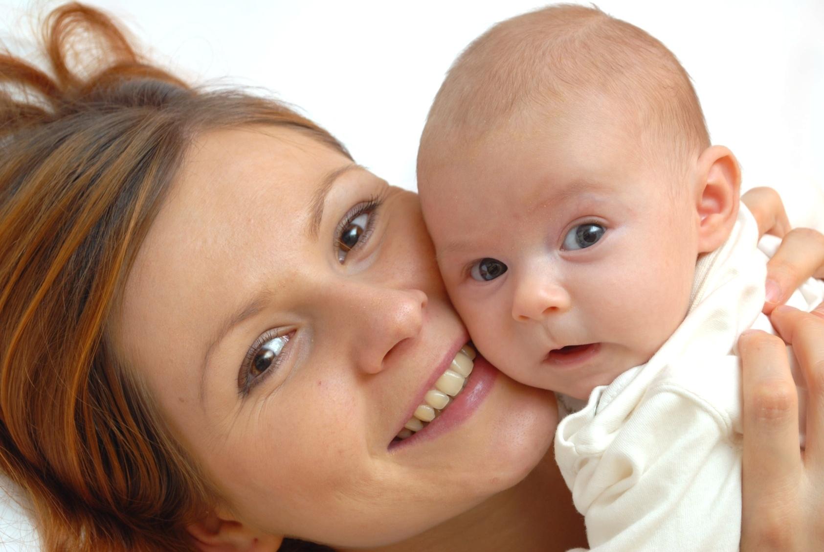 Уход за темечком у младенцев