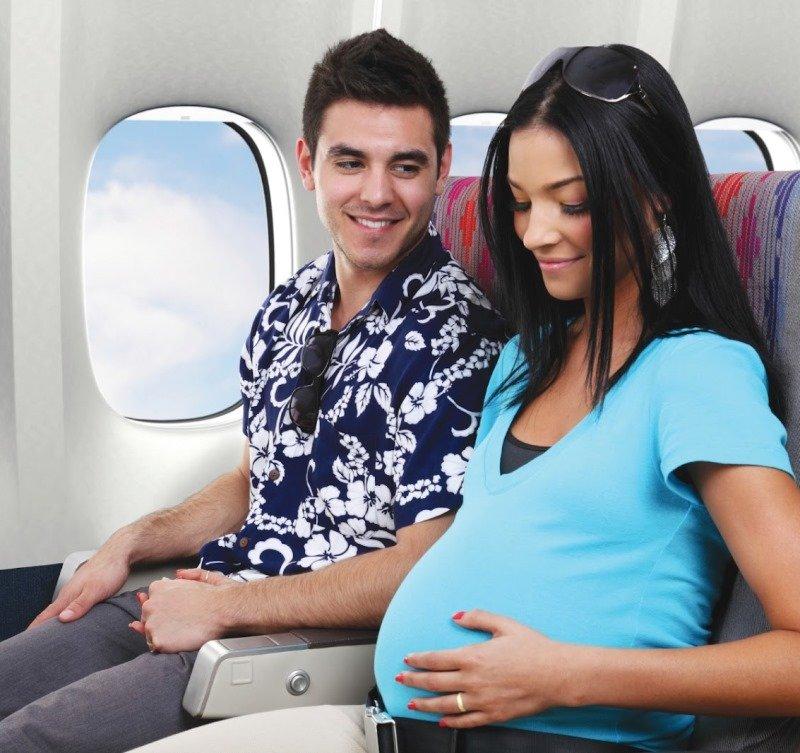 Перелёты во время беременности