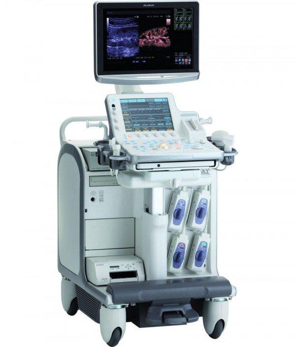 Ультразвуковой сканер для проведения фонокардиографии