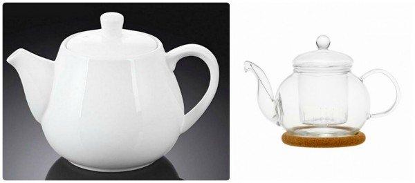 Посуда для заваривания имбирного чая