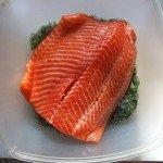 Филе жирной рыбы — форель
