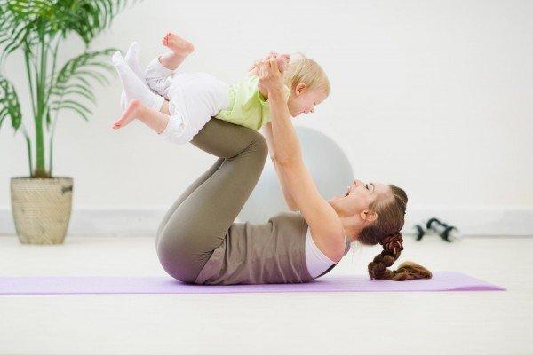 упражнения с ребёнком