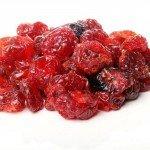 Сушёные ягоды малины