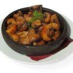 грибы жареные