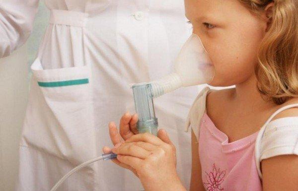 Ингаляции при аллергическом кашле у ребёнка