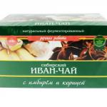 Иван-чай с имбирём и корицей
