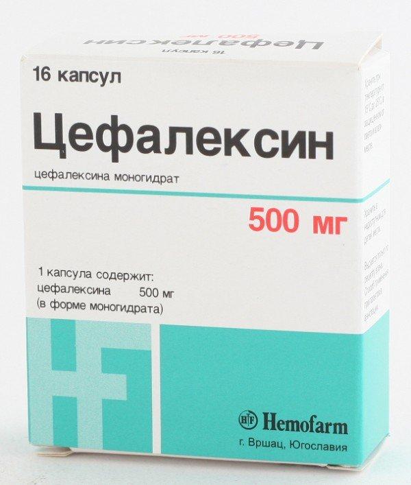 цефалексин суспензию детям