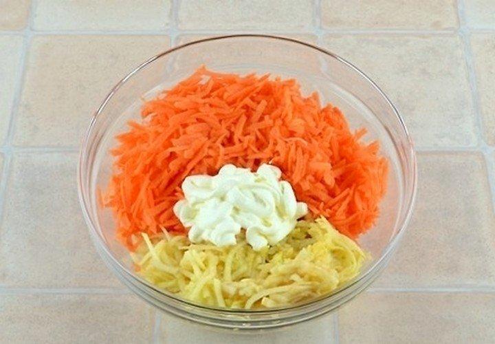 Салат морковь с яблоком для похудения отзывы