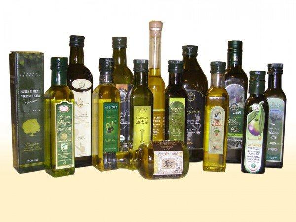 ассортимент оливкового масла