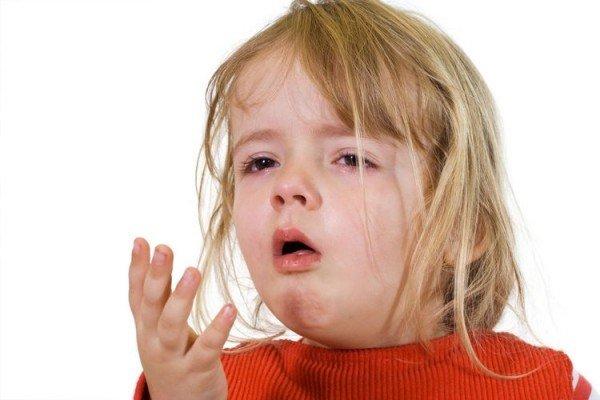 Ребёнок кашляет