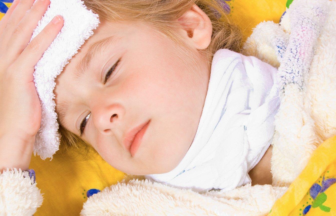 Острый фарингит у детей – частый спутник холодного времени года