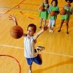 детский баскетбол