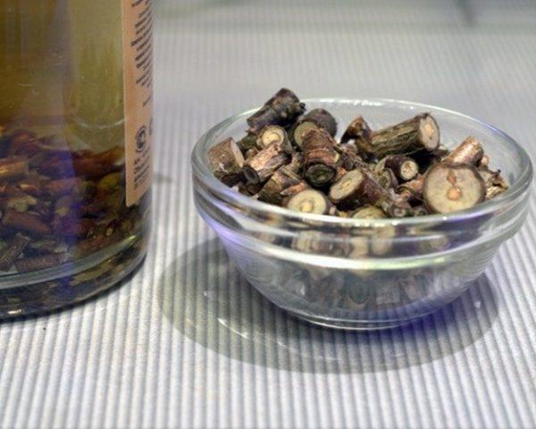 Ветки смородины нарезанные