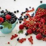 Свежие ягоды смородины