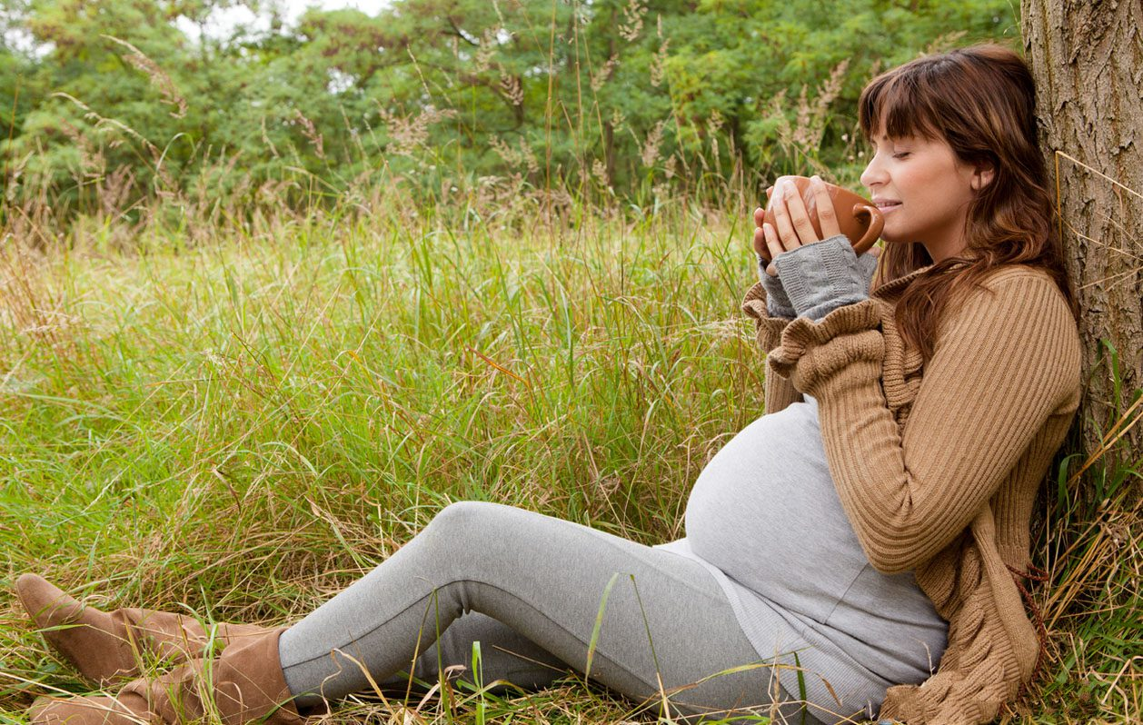 беременная чай