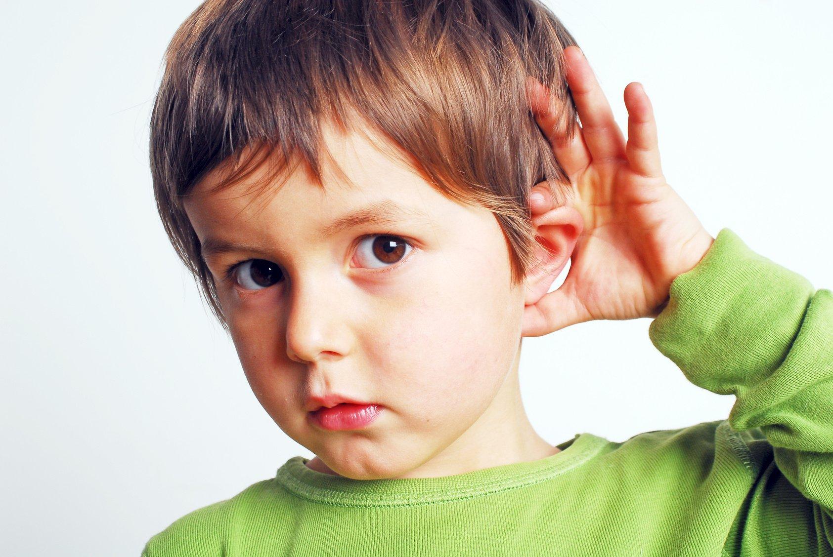 больное ухо у ребёнка