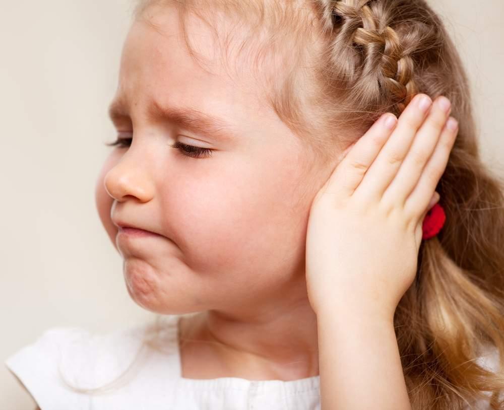 Причины возникновения и профилактика отита у детей