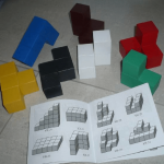 Кубики с инструкцией