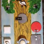 Бизиборд-дерево