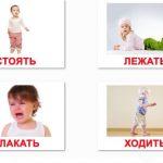 Карточки для изучения действий