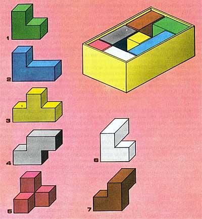Кубики для всех цветные схемы