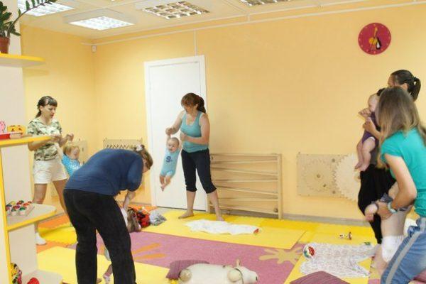 Групповые занятия с детьми