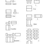 Схемы фигур для Кирпичиков