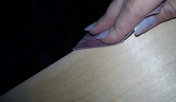 Ошкуривание поверхности
