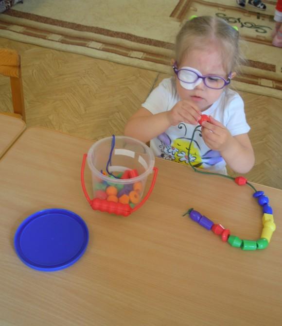 Мелкая моторика для детей с проблемами со зрением