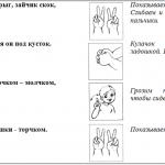 Гимнастика: зайчик и другие