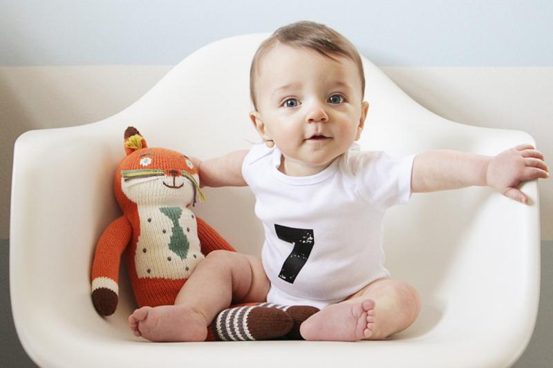 Ребёнок в 7 месяцев