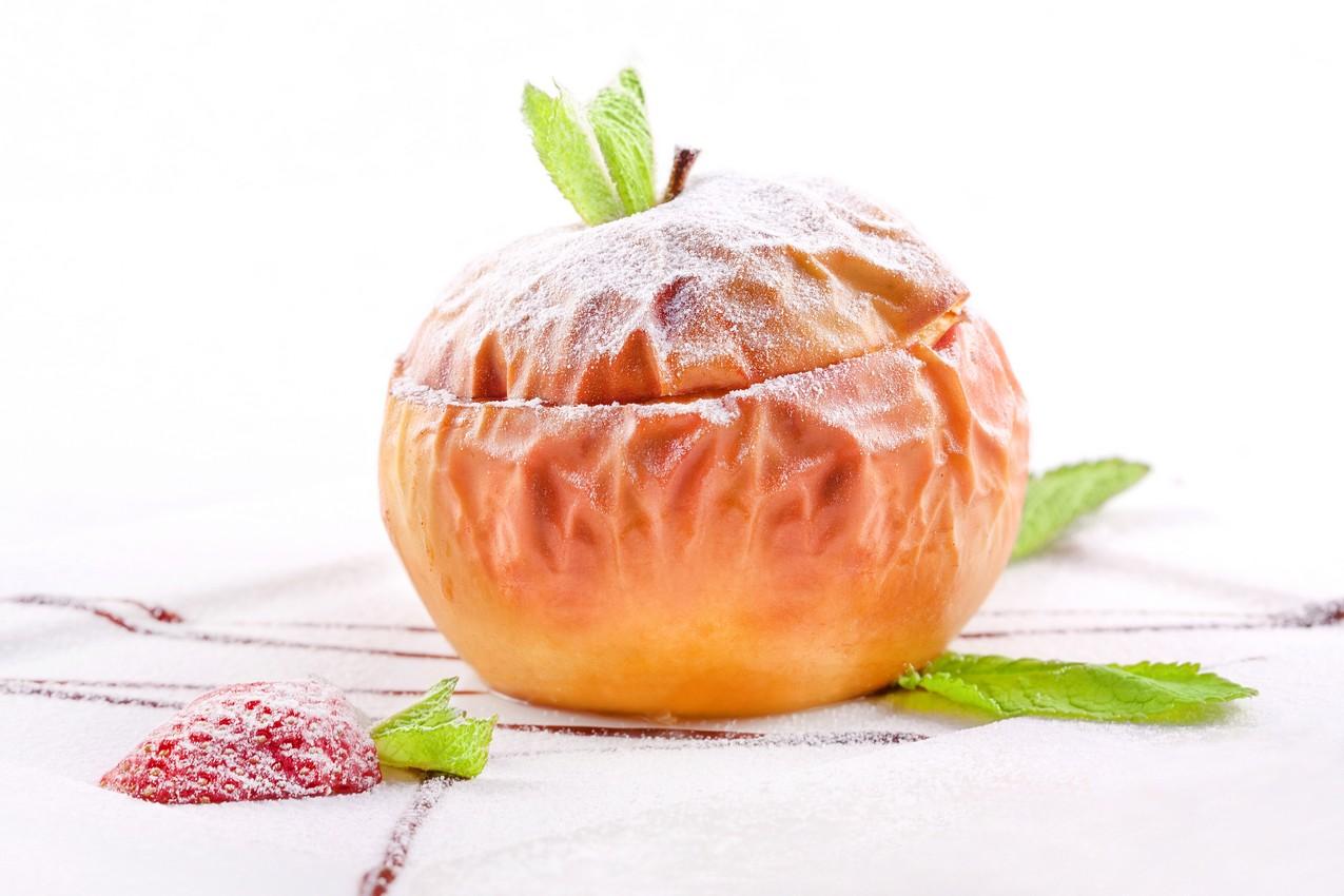 Печеные яблоки при беременности