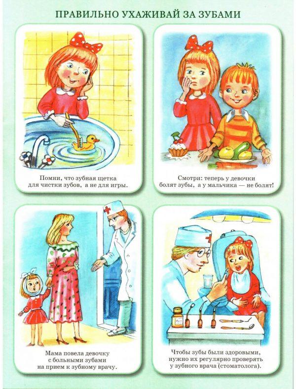 Картинки как правильно чистить зубы для детей