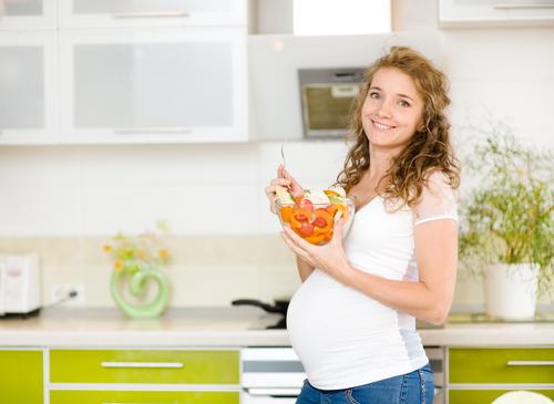 Будущая мама есть абрикосы
