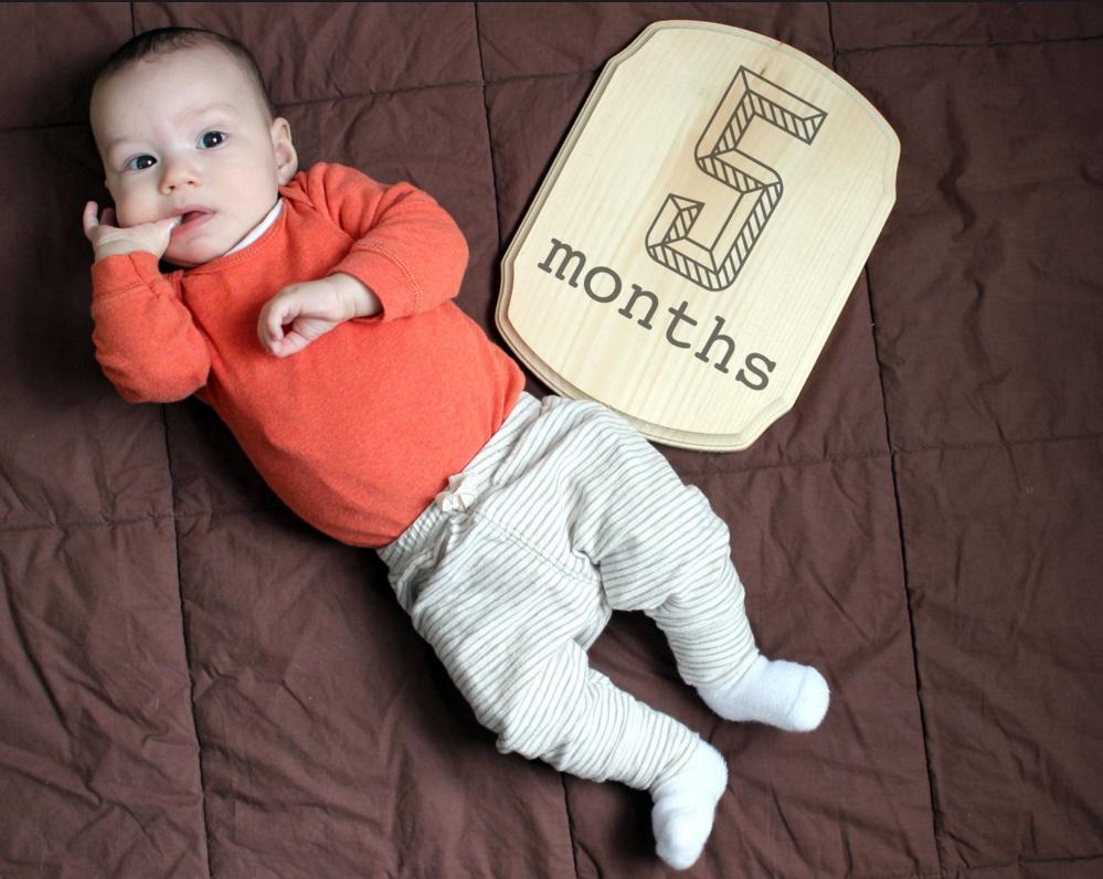 Малышу 5 месяцев: расписанию быть!