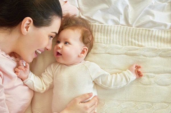 Мама с ребёнком